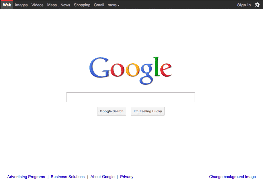 Google Redesigned interface on many services