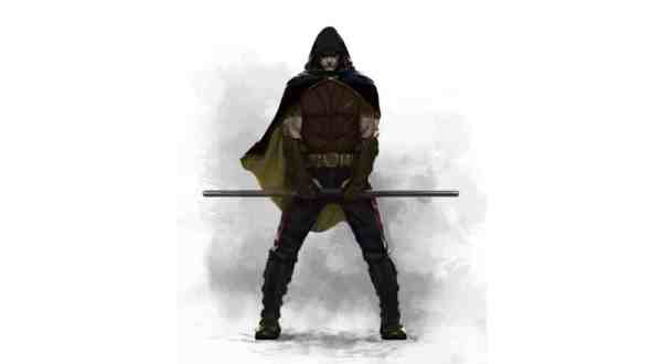 Arkham City's Robin Gets New Concept Art 1