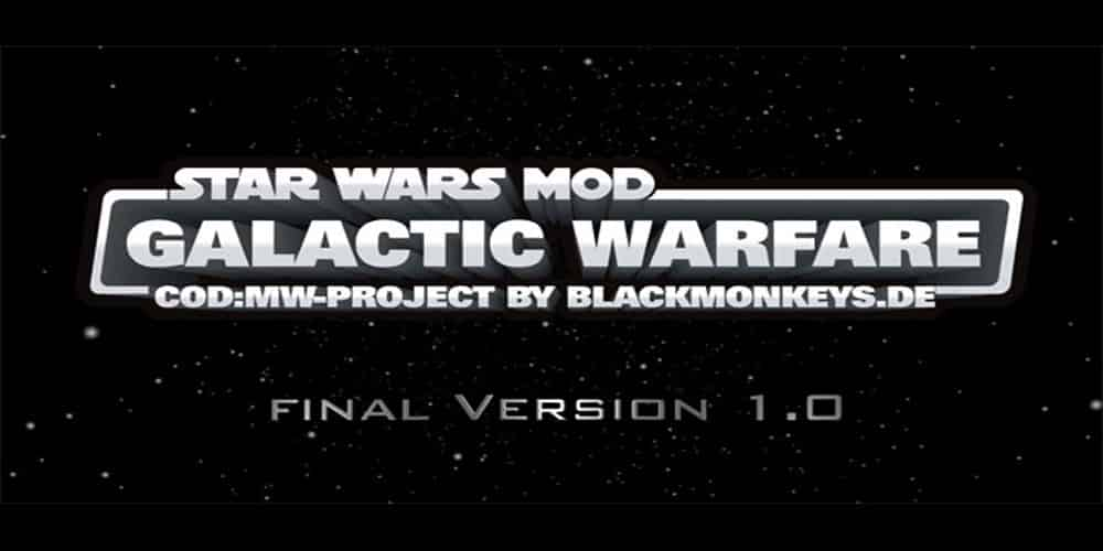COD4 Mod Galactic Warfare Is Complete And Released