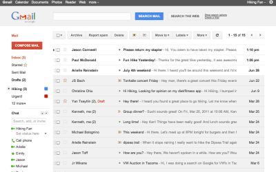 Gmail and Calendar Redesigned