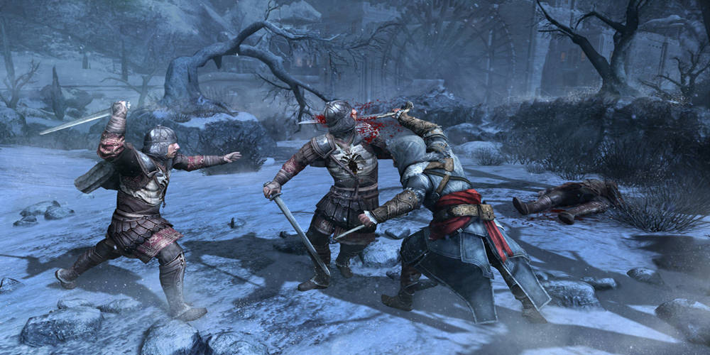 Assassin's Creed: Revelations Combat Video