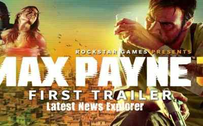 Max Payne 3 First look Trailer