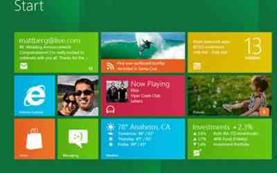 Windows 8: Metro control panel video