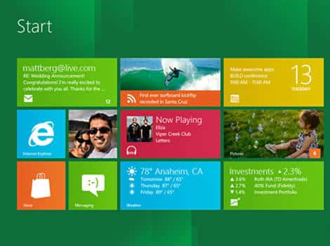 Windows 8: Metro control panel video