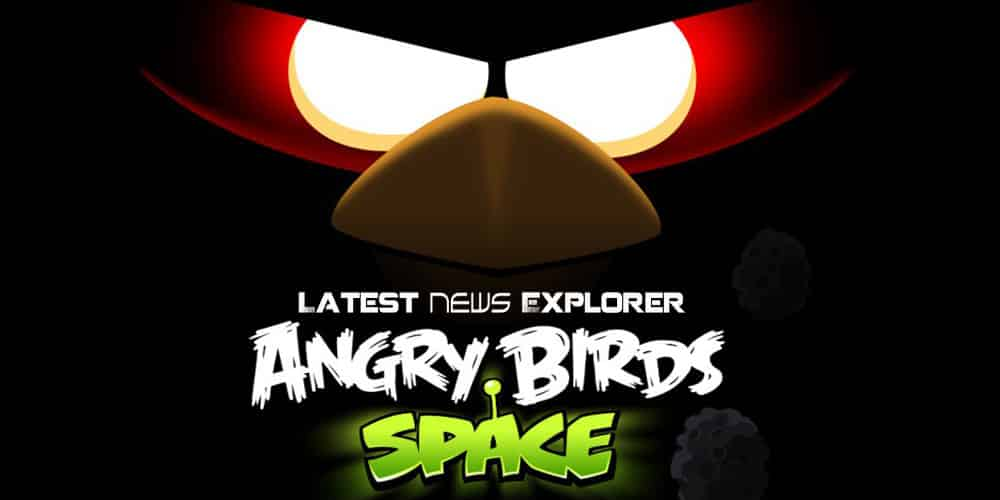 Angry Birds Space Gameplay Footage