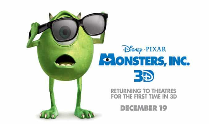 Monsters, Inc. – 3D Trailer