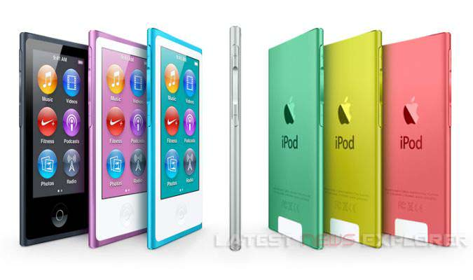 New iPod Nano And iPod Touch Unveiled
