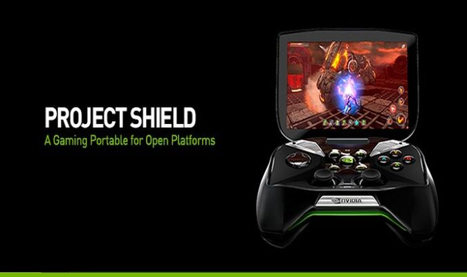 "Nvidia Reveals ""Project Shield"" Android-Powered Handheld Device"
