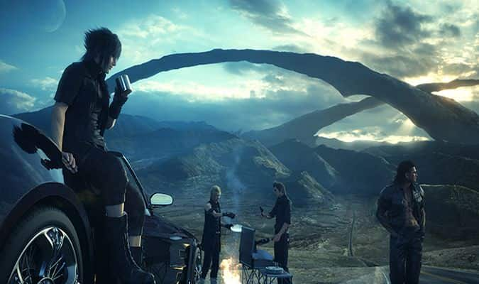 Final Fantasy XV Altissia & Type-F Regalia Footage