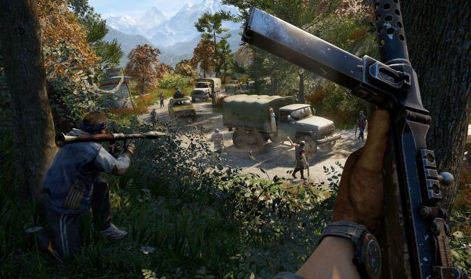 Far Cry 4 – 'Hurk is back' Trailer