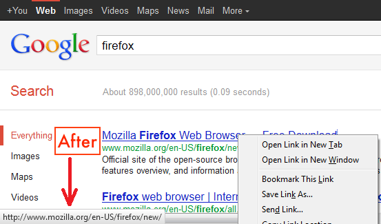 copy-URL-from-Google-searches