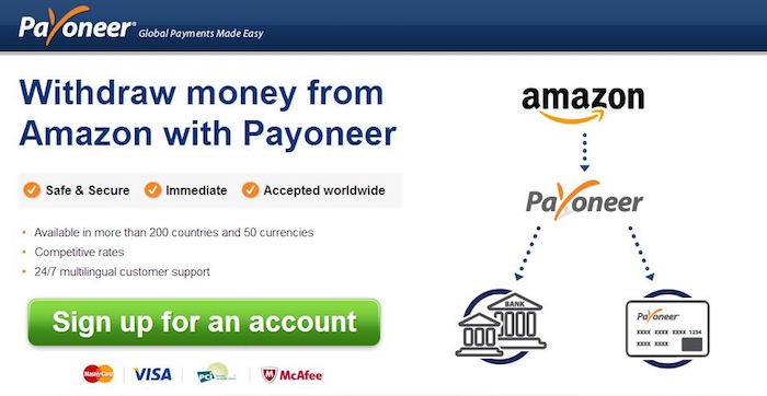 2018 How To Withdraw Amazon Com Affiliate Earnings Using Payoneer