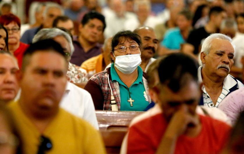 Mexico's coronavirus fight has just begun. Doctors say they're already running out of masks