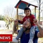 Coronavirus: Children with autism allowed to play in Italian park – BBC News