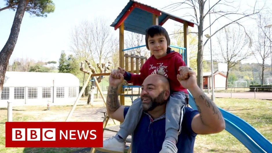 Coronavirus: Children with autism allowed to play in Italian park – BBC News