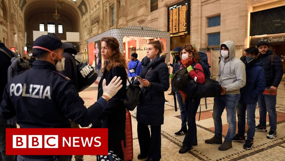 Coronavirus: Italy extends strict measures to complete nation – BBC Information