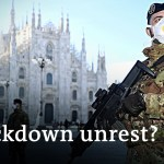 Ongoing coronavirus lockdown in Italy fuels worry of unrest | DW Information