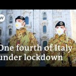 Coronavirus: Italy places hundreds of thousands underneath quarantine | DW Information