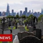 Coronavirus deaths in US prime 100,000 – BBC Information