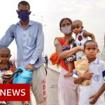 Coronavirus India: Dying and despair as migrant employees flee cities – BBC Information