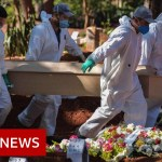 Coronavirus: Brazil's every day loss of life toll hits 1,000 for first time – BBC Information