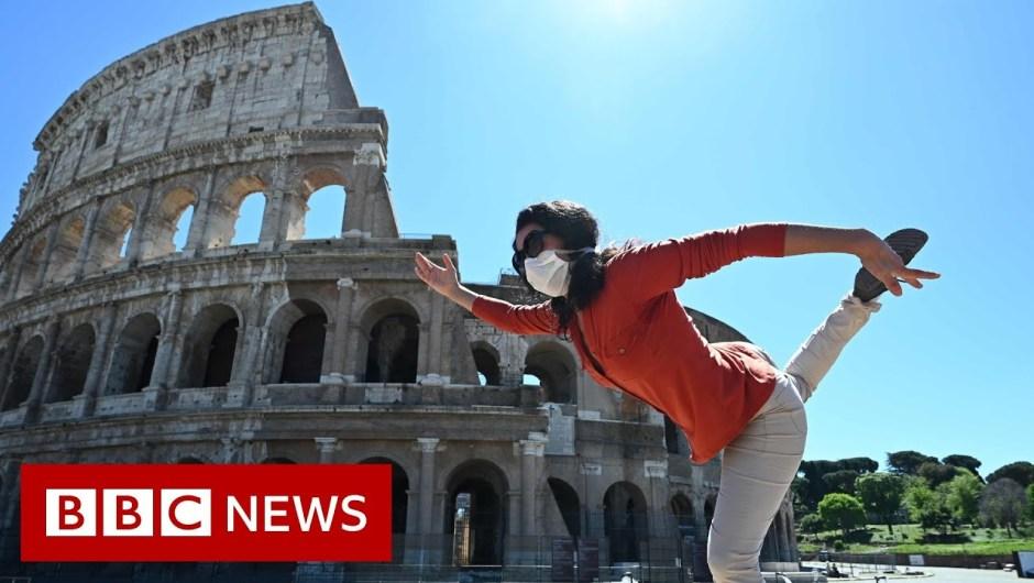 Coronavirus lockdown: totally different routes again to regular life – BBC Information