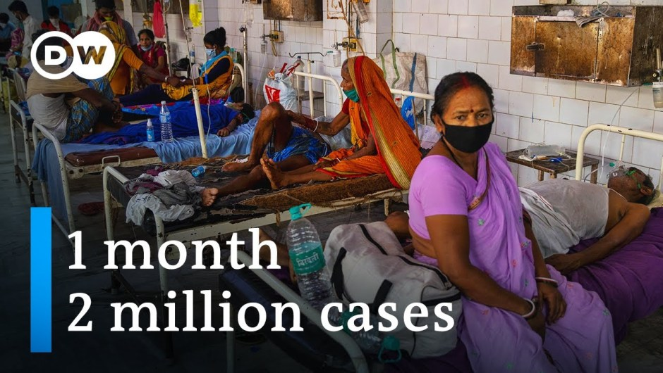 Coronavirus instances in India high four million   DW Information
