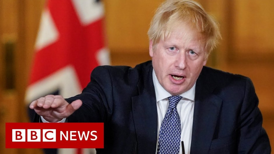 Coronavirus: UK is 'previous the height' says PM Boris Johnson – BBC Information