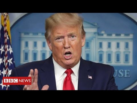 "Coronavirus: Trump claims recommendation to inject disinfectant was simply ""sarcasm"" – BBC Information"