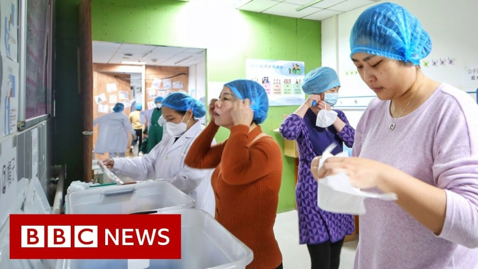 Coronavirus: Some workplaces in Wuhan to re-open – BBC Information