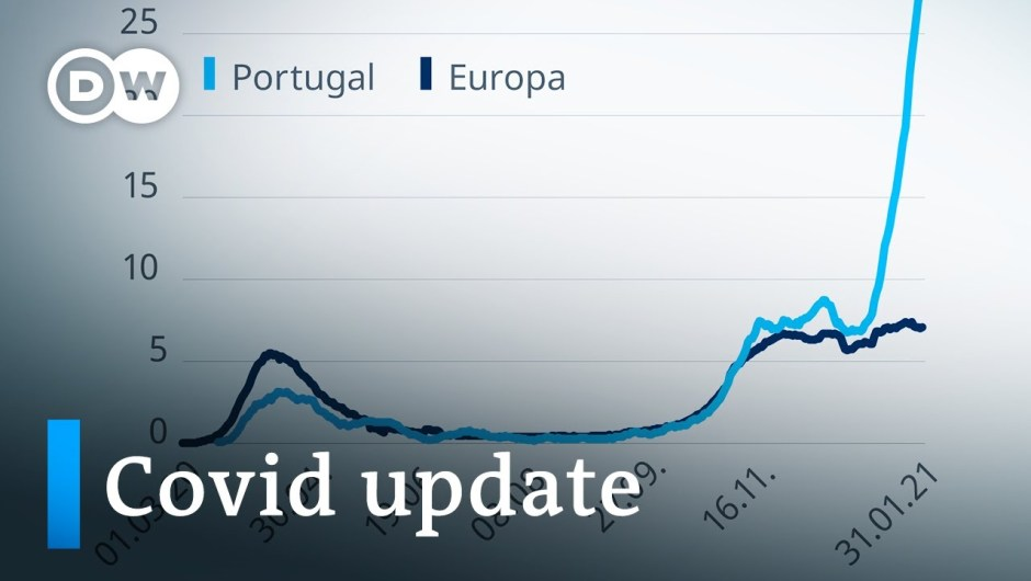 Merkel defends vaccine rollout +++ Portugal's hospitals on the brink   Coronavirus replace