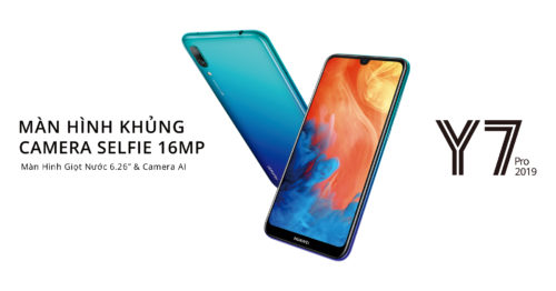 Huawei Y7 Pro 2019 smartphone