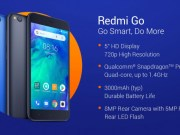Xiaomi Redmi Go Specifications