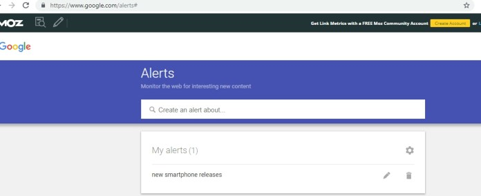 How To Use Google Alert to Track Your Favorite Topics On The Web