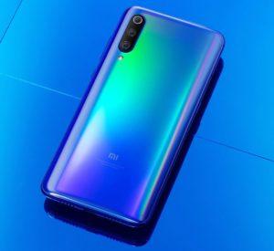 Xiaomi Mi 9 Android smartphone