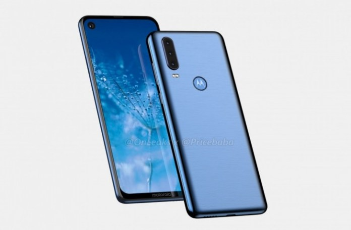 Motorola One Action with a triple rear camera setup