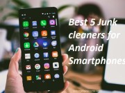 Check out the best 5 Junk cleaners for Android smartphones