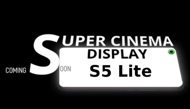 Infinix Hot S5 Lite with Super Cinema display