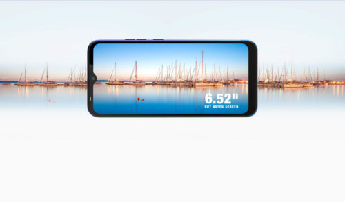 Tecno Spark 4 Lite Display, 6,52-inch with notch