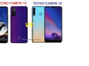 Tecno Camon 15 vs Tecno Camon 12: Specs and Price comparison