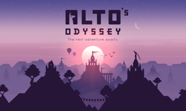 Alto's Odysey is one of the best free games you can play with smartphone
