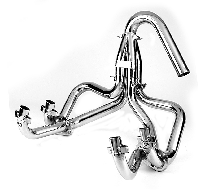 tri mill exhausts