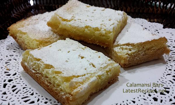 Calamansi Bars (aka Lemon Bars) :)
