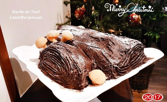 Buche de Noel (Yule Log Cake)