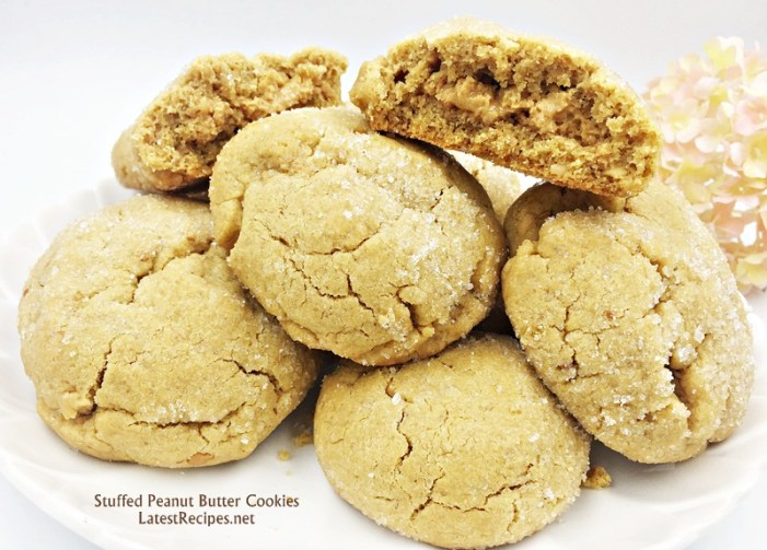 Peanut Butter Stuffed Cookies