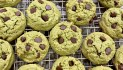 Matcha (Green Tea) Chocolate Chip Cookies