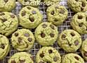Matcha (Green Tea) Chocolate Chip Cookies