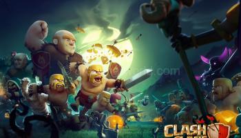 clash of clans mod apk offline data