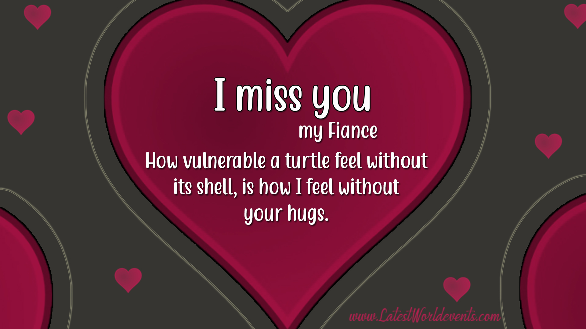 I Miss You Quotes For Fiance & Miss U Love Quotes