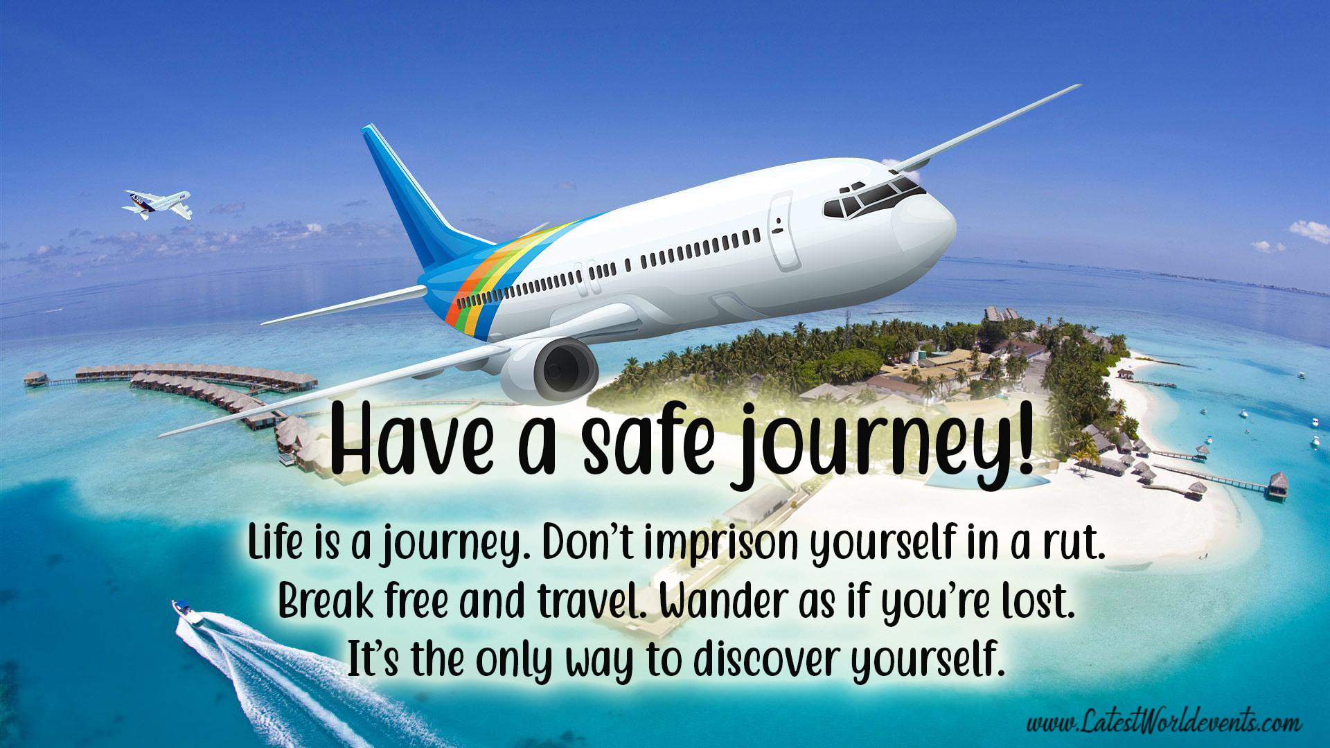 Happy Journey Wishes for Brother & Safe Flight Wishes for ...